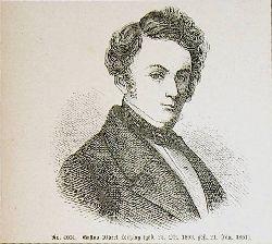 LORTZING, Albert Lortzing (1801-1851), deutscher Komponist, Schauspieler und Sänger