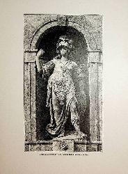 GRAZ/ Landhaus, Fassade, Detail, Statute der Bellona (Minerva) von Giovanni Mamolo