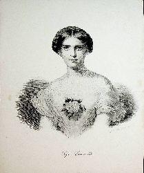 CRUVELLI / Sophie Johanne Charlotte Crüwell, Künstlername Sophie Cruvelli (1826 - 1907) Sängerin