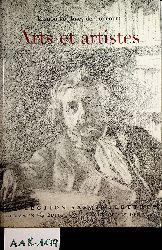 Goncourt, Edmond de ; Goncourt, Jules de ; Bouillon, Jean Paul:  Arts et artistes. Edmond & Jules de Goncourt. Textes réunis, annotés et présentés par Jean-Paul Bouillon , Collection Savoir : Lettres