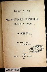 Exner, Sigmund [Exner von Ewarten, Sigmund Ritter  ]:  Leitfaden bei der mikroskopischen Untersuchung thierischer Gewebe.