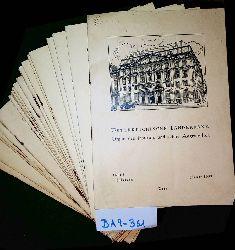 Österreichische Länderbank. Organ des Instituts und seiner Angestellten. [Zeitschrift] 1. Jahrgang  1953, 2. Jahrgang 1954 und 3. Jahrgang 1955 komplett