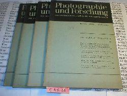 Photographie und Forschung die Contax-Photographie in der Wissenschaft. 4 Hefte 1. ) 2. Band Heft 7 und Heft 8, 3. Band Heft 5 und heft 6.