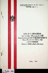Der Heldenberg - bei Klein-Wetzdorf, NÖ. Das Grabmal des FM Graf Radetzky ; Eine Gedenkstätte der ruhmreichen österreichischen Armee