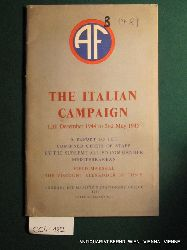 Alexander of Tunis, Harold Rupert Leofric George Alexander, Earl:  Report by the Supreme Allied Commander, Mediterranean, Field-Marshal the Viscount Alexander of Tunis, to the Combined Chiefs of Staff on the Italian Campaign, 12th December 1944 to 2nd May 1945.