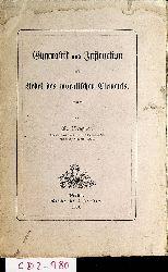 Plessner, M.:  Gymnastik und Instruction als Hebel des moralischen Elements.