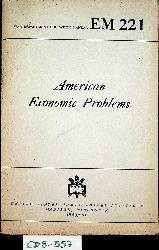 Patterson, S. Howard. Little, A. W. Selwyn. Burch, Henry Reed:  American Economic Problems. (=War Department Education Manual EM 221)