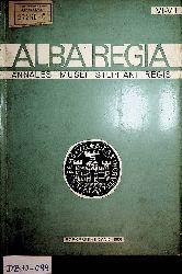 ALBA REGIA. Annales Musei Stephani Regis. VI-VII 1965-66
