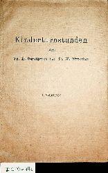 Gaulhofer, Karl / Streicher, Margarete:  Kinderturnstunden : fünfundzwanzig Übungseinheiten für das 1. Schuljahr