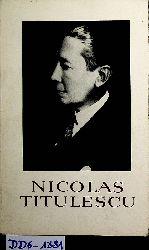 Netea, Vasile:  Nicolas Titulescu. Préface de Mircea Malita.