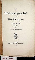 Schröer, Karl Julius:  Die Aufführung des ganzen Faust auf dem Wiener Hofburgtheater. Nach dem ersten Eindruck besprochen.