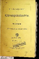 Jörgensen, Alfred:  Die Mikroorganismen der Gärungsindustrie.