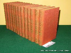 Goethe, Johann Wolfgang von:  Ausgewählte Werke : In 12 Doppelbänden und 1 Sonderband somit 13 Bände