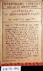 Hazlitt, William:  Characters of Shakespear