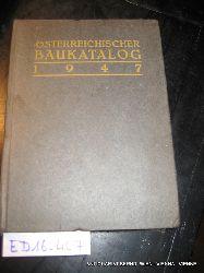 Österreichischer Baukatalog 1947