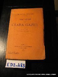 Mérimée, Prosper:  Théâtre de Clara Gazul : comédienne espagnole ; suivi de La jaquerie et de La famille Carvajal