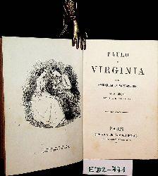 Saint-Pierre, Henri Bernardin de:  Paulo e Virginia