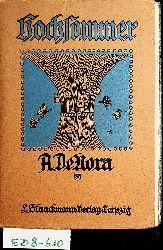De Nora, A. (d.i. Anton Noder):  Hochsommer. Neue Gedichte.