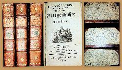 Schröckh, Johann Mathias [Schröckh, Johann Matthias:]  Allgemeine Weltgeschichte für Kinder 1.-3. Teil (3 Bände von 4)