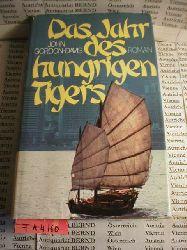 Gordon-Davis, John:  Das Jahr des hungrigen Tigers. Roman.