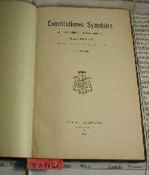 Besson, Mario:  Constitutiones Synodales. AB ILLUSTRISSIMO AC REVERENDISSIMO