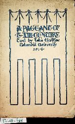 Coss, John J. ; Erskine, John ; Wilson, Claggett:  A pageant of the thirteenth century for the seven hundredth anniversary of Roger Bacon / given by Columbia University. The plan and the notes by John J. Coss; the texte by John Erskine; the ill. by Claggett Wilson