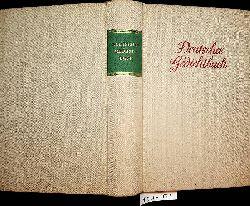 Deutsches Gedichtbuch. Lyrik aus acht Jahrhunderten.