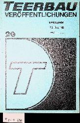 TEERBAU-VERÖFFENTLICHUNGEN Nr. 29 1983