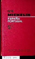 Espana  Portugal MICHELIN 1979
