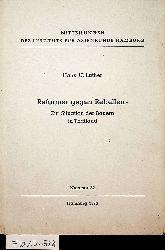 Luther, Hans U.:  Reformer gegen Rebellen- Zur Situation der Bauern in Thailand. (=Mitteilungen des institutes für Asienkunde Hamburg Nr.: 32).