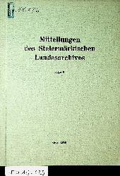 Mitteilungen des Steiermärkischen Landesarchivs. Folge 7