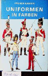 Kannik, Preben:  Uniformen in Farben.