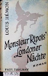 Hémon, Louis:  Monsieur Ripois