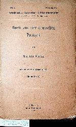 Opitz, Martin:  Buch von der deutschen Poeterei. (=Neudrucke deutscher Literaturwerke des 16. und 17. Jahrhunderts. - Halle : Niemeyer, 1876 ; 1)
