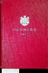DENMARK 1927 published by The  Danish Ministry of Foreign Affairs and the Danish Statistical Department