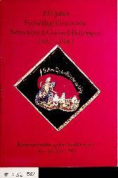 Festschrift zum 100jährigen Jubiläum der Freiwilligen Feuerwehr, Abteilung Bettringen : mit Fahnenweihe u. Kreisfeuerwehrtag 1983; [1883 - 1983; 24. - 27. Juni 1983] / [zsgest. von Rudolf Kugler ...]