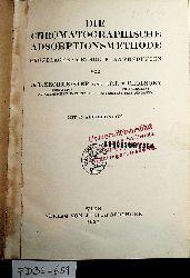 Zechmeister, László  ; Cholnoky, László:  Die chromatographische Adsorptionsmethode : Grundlagen, Methodik, Anwendungen