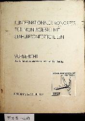 MONTAGEBAU-  II. Internationaler Kongress für Montagebau mit Stahlbetonfertigteilen : Vorbericht über den Inhalt der schriftlichen und mündlichen Beiträge ; Dresden, 18. bis 22. Juni 1957, Technische Hochschule Dresden