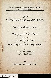 Bartels, Friedrich:  Über Acrodermatitis chronica atrophicans. Freiburg (Breisgau), Univ., Diss. med., 1935