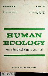 Human ecology : an interdisciplinary journal Vol 9, Number 4 December 1981