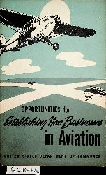 Rush, R. H.:  Opportunities for Establishing New Businesses in Aviation Prepared by R. H. Rush ... In cooperation with members of the aviation industry. [With illustrations.] (=  [U.S. Department of Commerce. Industrial Series. no. 63.].)