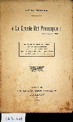 """Teissier, Léon:  La Grande dot provençale"""" (Dante, Purgatoire, 20-61). Le Voyage de Dante en France. Dante et nos théologiens. Dante et les trubadours. Quelques pages d"""