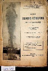 Toroceano, Virgile:  Les gisements pétrolifères de Roumanie  Avec une préf. de L. Mrazek