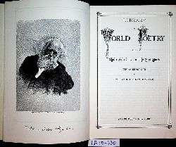 Bryant, William Cullen:  Library of world poetry : being choice selections from the best poets. with an introd. by William Cullen Bryant