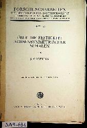 Geckeler, Josef:  Über die Festigkeit achsensymmetrischer Schalen. (=Forschungsarbeiten auf dem Gebiete des Ingenieurwesens ; 276. Band)