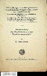 Dreger, Joachim:  Die Bedeutung des Geschäftsplans in der Versicherungsaufsicht. (=Abhandlungen aus d. gesamten Handelsrecht, bürgerlichen Recht u. Konkursrecht 23).