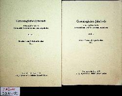 Genealogisches Jahrbuch. Band 19 1. und 2. Teil (= Festschrift zum 75jährigen Bestehen)  Hrsg. von der Zentralstelle für Personen- und Familiengeschichte.