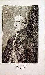 JOSEPH II. - Kaiser Joseph II. (gestochen von Joseph Berkowetz)