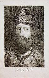 KARL DER GROSSE- Karl der Große  (Charlemagne)  (gestochen von  C. Mahlknecht)