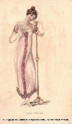 Damenmode 1810 er Jahre BALL DRESS (=From: The Repository of arts, literature, commerce, manufactures, fashions and politics)